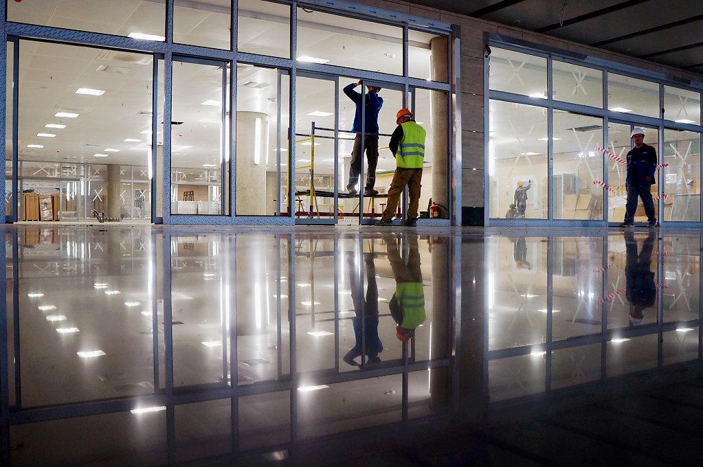 Строительство нового терминала аэропорта Пулково