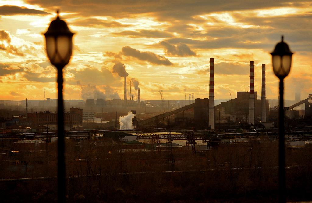 Кемерово, вид на город
